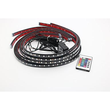 2pcs سيارة لمبات الضوء SMD 5050 LED أضواء الخارج