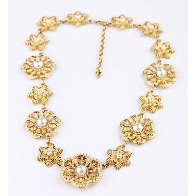 للمرأة قلادة السواحل - وردة تصميم فريد, موضة أصفر قلادة مجوهرات من أجل زفاف, تهاني