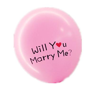 voordelige Ballonnen-Ballonnen Feest Opblaasbaar Dik Latex Unisex Speeltjes Geschenk 1 pcs