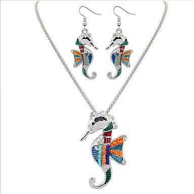 Mulheres Conjunto de jóias - Resina Animal Importante, Original, Pingente Incluir Dourado / Prata Para Aniversário Parabéns Graduação