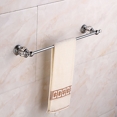 Barre porte serviette moderne m tal 1 pi ce bain d 39 h tel barre 1 serviette montage mural de - Barre porte serviette mural ...
