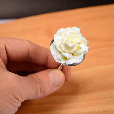 Ferramenta de decoração Cupcake Bolo Aço Inoxidável Aniversário