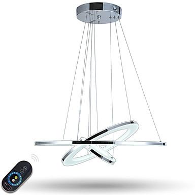 أضواء معلقة ضوء محيط مطلي معدن أكريليك تخفيت, LED, ديمابل مع جهاز التحكم عن بعد 110-120V / 220-240V وشملت مصدر ضوء LED / LED متكاملة