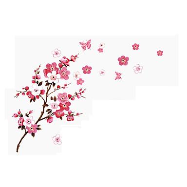 Paisagem Romance Floral Adesivos de Parede Autocolantes de Aviões para Parede Autocolantes 3D para Parede Autocolantes de Parede