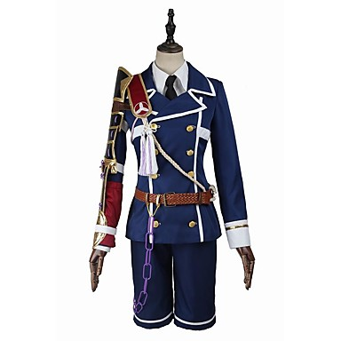 Inspiriert von Cosplay Cosplay Video Spiel Cosplay Kostüme Cosplay Kostüme Cosplay Tops / Bottoms Modisch Langarm Mantel Bluse Hosen