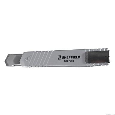 Ocelový štít 18 mm těžký slitin zinkový slitinový nůž / 1 rukojeť