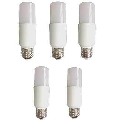 EXUP® 5W 480 lm E27 Lâmpada Redonda LED Tubo 6 leds SMD 2835 Controle de luz Decorativa Branco Quente Branco Frio