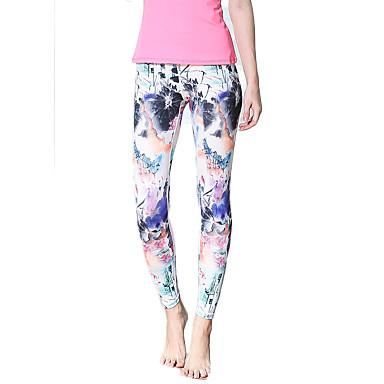 calças de yoga Meia-calça Leggings Calças Secagem Rápida Respirável Natural Elasticidade Alta Moda Esportiva Mulheres Ioga Pilates