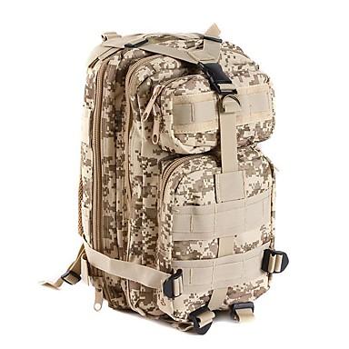 25 L mochila Acampar e Caminhar Esportes Relaxantes Viajar Prova-de-Água Vestível Resistente ao Choque Multifuncional