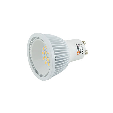 5W 330-380 lm E14 GU10 GU5.3(MR16) GX5.3 E27 B22 Lâmpadas de Foco de LED MR16 15 2835 leds SMD 2835 Branco Quente Branco Frio Branco