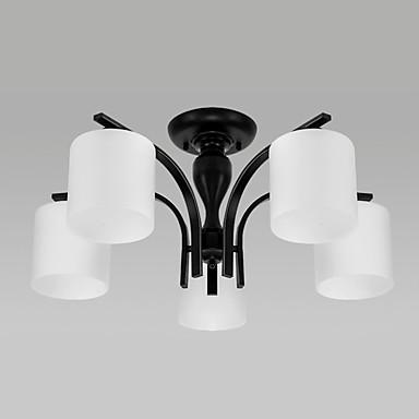 5-luz Montagem do Fluxo Luz Ambiente - LED, 110-120V / 220-240V, Branco Quente / Branco, Lâmpada Não Incluída / 20-30㎡ / E26 / E27