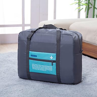 Bolsa de Viagem Organizador de Mala Prova-de-Água Portátil Dobrável Grande Capacidade Organizadores para Viagem para Roupas Poliéster