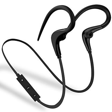 في الاذن لاسلكي Headphones بلاستيك الرياضة واللياقة البدنية سماعة مع ميكريفون / مع التحكم في مستوى الصوت سماعة