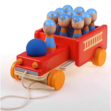 Carros de Brinquedo Blocos de Construir Brinquedos de Boliche Jogos de boliche Brinquedo Educativo Carro Caminhões de Bombeiros Legal