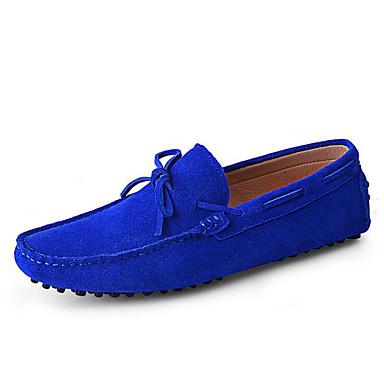 Homens sapatos Camurça Primavera Verão Outono Sapatos de mergulho Mocassim Sapatos de Barco para Casual Escritório e Carreira Ao ar livre