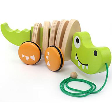 Blocos de Construir Crocodilo Clássico Fun & Whimsical Para Meninos Dom