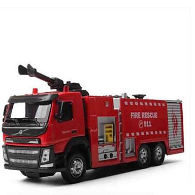 Caminhão de Bombeiro Caminhões & Veículos de Construção Civil Carros de Brinquedo Metal Crianças Brinquedos Dom