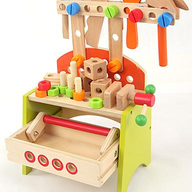 Ferramentas de Construção Ferramentas de Brinquedo Caixas de Ferramentas Brinquedos Segurança Madeira Crianças Para Meninos Peças