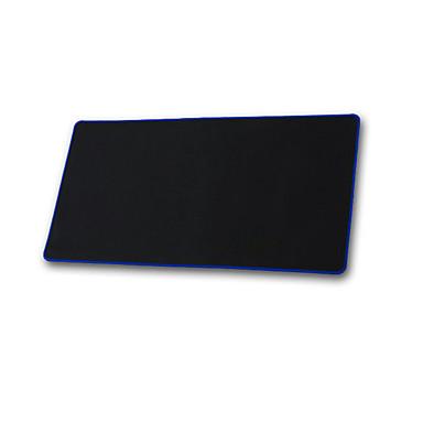 Grande preto fechado sem teste padrão mouse pads