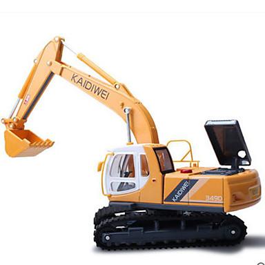 KDW Veiculo de Construção Escavadeiras Caminhões & Veículos de Construção Civil Carros de Brinquedo Metal Crianças Brinquedos Dom