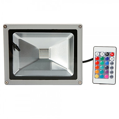 HKV 20 W أضواء الفيضان LED ضد الماء / قابل للتعديل / سهولة التثبيت RGB 85-265 V حائط / غرف التخزين / الكراج
