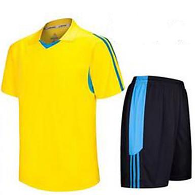 Pánské Fotbal Sady oblečení Prodyšné Léto Klasický Polyester Fotbal