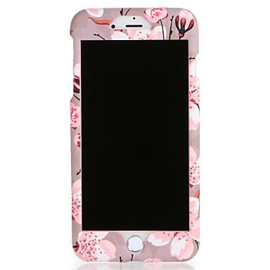 Capinha Para iPhone 7 / iPhone 7 Plus / iPhone 6s Plus Estampada Capa Proteção Completa Flor Rígida PC para iPhone 7 Plus / iPhone 7 / iPhone 6s Plus
