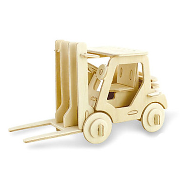 3D퍼즐 장난감 지게차 나무 남여 공용 조각