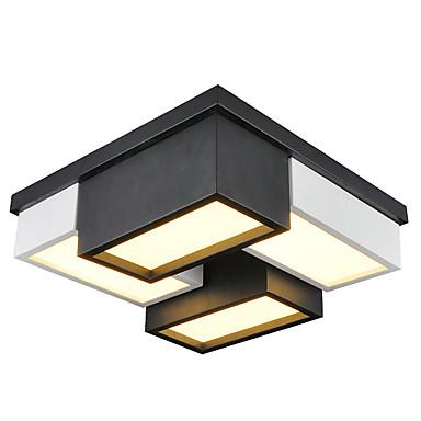 تركيب السقف المدمج ضوء سفل آخرون معدن استايل مصغر, LED, المصممين 110-120V / 220-240V وشملت مصدر ضوء LED / LED متكاملة