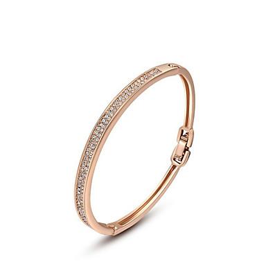 Dame Armbånd Unikt design Mode Krystal Legering Smykker Smykker Til Bryllup Fest Daglig