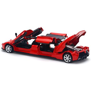 billige Lekebiler i støpejern-Lekebiler Modellbil Racerbil simulering Musikk og lys Unisex Gutt Leketøy Gave / Metall