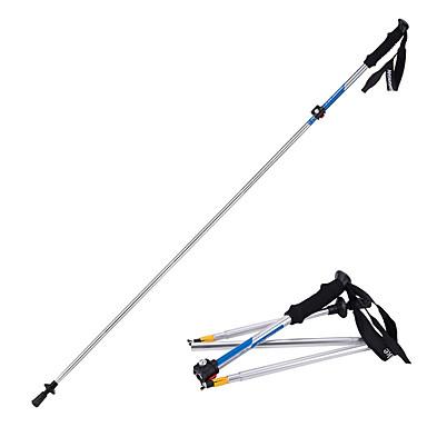 5 Secções Bengalas para Caminhar Nórdicas 135 centímetros (53 polegadas) Húmido / Dobrável / Ajustável Liga de Alúminio 7075 Acampar e