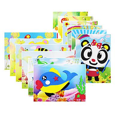 voordelige tekening Speeltjes-KEAIHAO 3D-puzzels Stickers Legpuzzel Vogel Kip Eend Schattig DHZ Papier EVA Cartoon Kinderen Unisex Speeltjes Geschenk