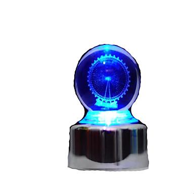Caixa de música Globo de neve Roda gigante Clássico Brilha no Escuro Crianças Adulto Infantil Dom Unisexo