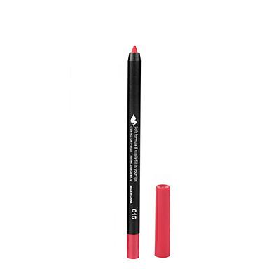 Canetas & Lápis Delineador de Lábios Molhado Gloss Colorido / Natural Maquiagem Cosmético Artigos para Banho & Tosa
