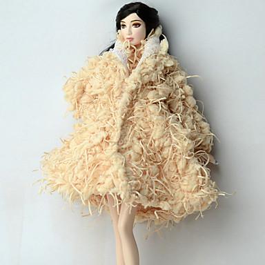 캐쥬얼 더 많은 악세서리 에 대한 바비 인형 폴라 플리스 코트 에 대한 여자의 인형 장난감