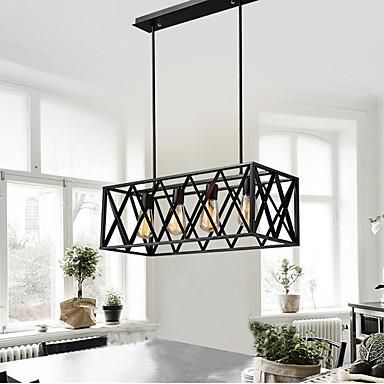 4-luz Luzes Pingente Luz Descendente - Estilo Mini, Designers, 110-120V / 220-240V Lâmpada Incluída / 10-15㎡ / E26 / E27