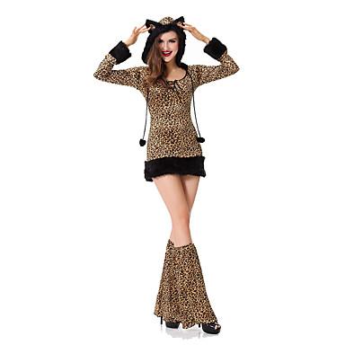 Cosplay Kostüme Tier Fest/Feiertage Halloween Kostüme Andere Kleid Stulpen Tanga Halloween Frau Elasthan Terylen