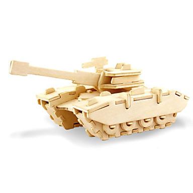 voordelige 3D-puzzels-3D-puzzels Tank Plezier Hout Klassiek Kinderen Unisex Speeltjes Geschenk