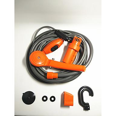 povoljno Oprema za čišćenje i uređivanje-auto narančasta tuš 12v električni prijenosni vanjski tuš jednostavan za pranje automobila