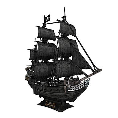 voordelige 3D-puzzels-3D-puzzels Schip Piraten Zwarte parel Plezier 1 pcs Klassiek Kinderen Speeltjes Geschenk