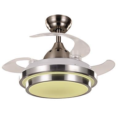 Ecolight™ Ventilador de teto Luz Ambiente - LED Designers, Moderno / Contemporâneo, 220-240V, Branco Quente Branco, Lâmpada Incluída
