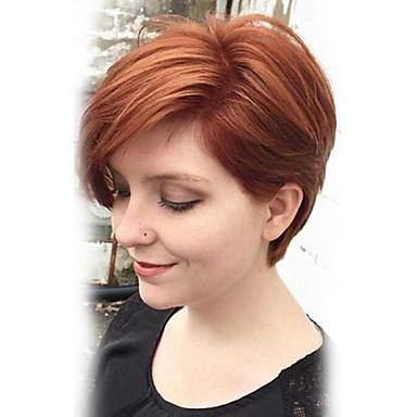 شعرة الإنسان كابليس الباروكات شعر مستعار طبيعي مستقيم كلاسيكي جودة عالية مصنوع بالماكينة شعر مستعار يوميا