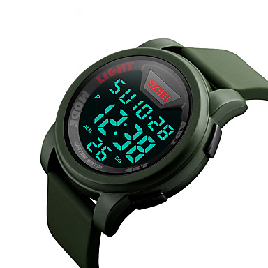 Skmei 1218 mužská žena venkovní sportovní multifunkční vodotěsné sportovní elektronické hodinky