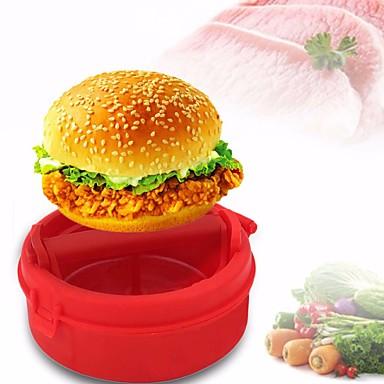 1 Pças. Mold DIY For Vegetais para Meat para Bread Silicone Ecológico Alta qualidade Não-Pegajoso Gadget de Cozinha Criativa Novidades