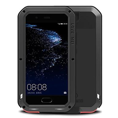 Capinha Para Huawei Antichoque / Impermeável Capa Proteção Completa Sólido Rígida Metal para P10 Plus / P10 / Huawei