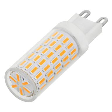 G9 LED Doppel-Pin Leuchten T 86 LEDs SMD 4014 Warmes Weiß Kühles Weiß 100-300lm 3000/6500K AC220V