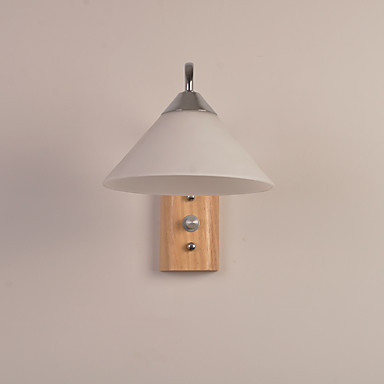 Moderno / Contemporâneo Luminárias de parede Para Madeira / Bambu Luz de parede 110-120V 220-240V 60W