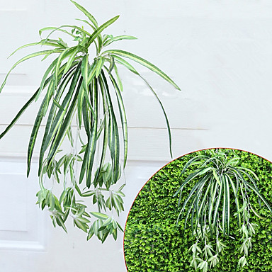 Flores artificiais 1 Ramo Pastoril Estilo Plantas Flor de Mesa