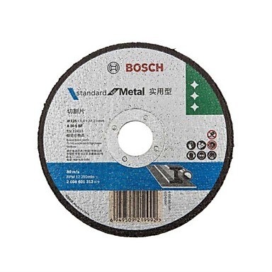 Bosch broušení brusného kotouče - kov 125 * 22.2 * 3mm broušení řezání / 10ks